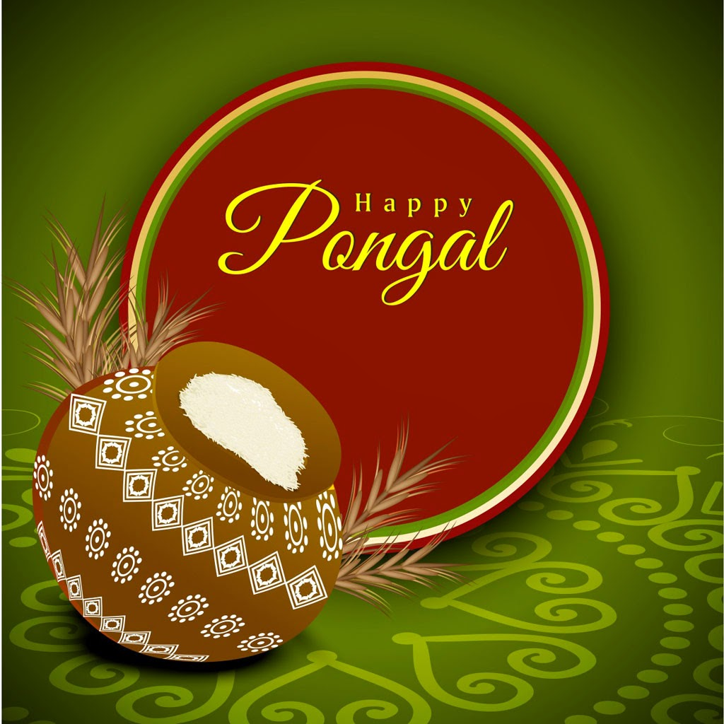 Happy Pongal Greetings SMS Messages In Hindi-And Tamil
