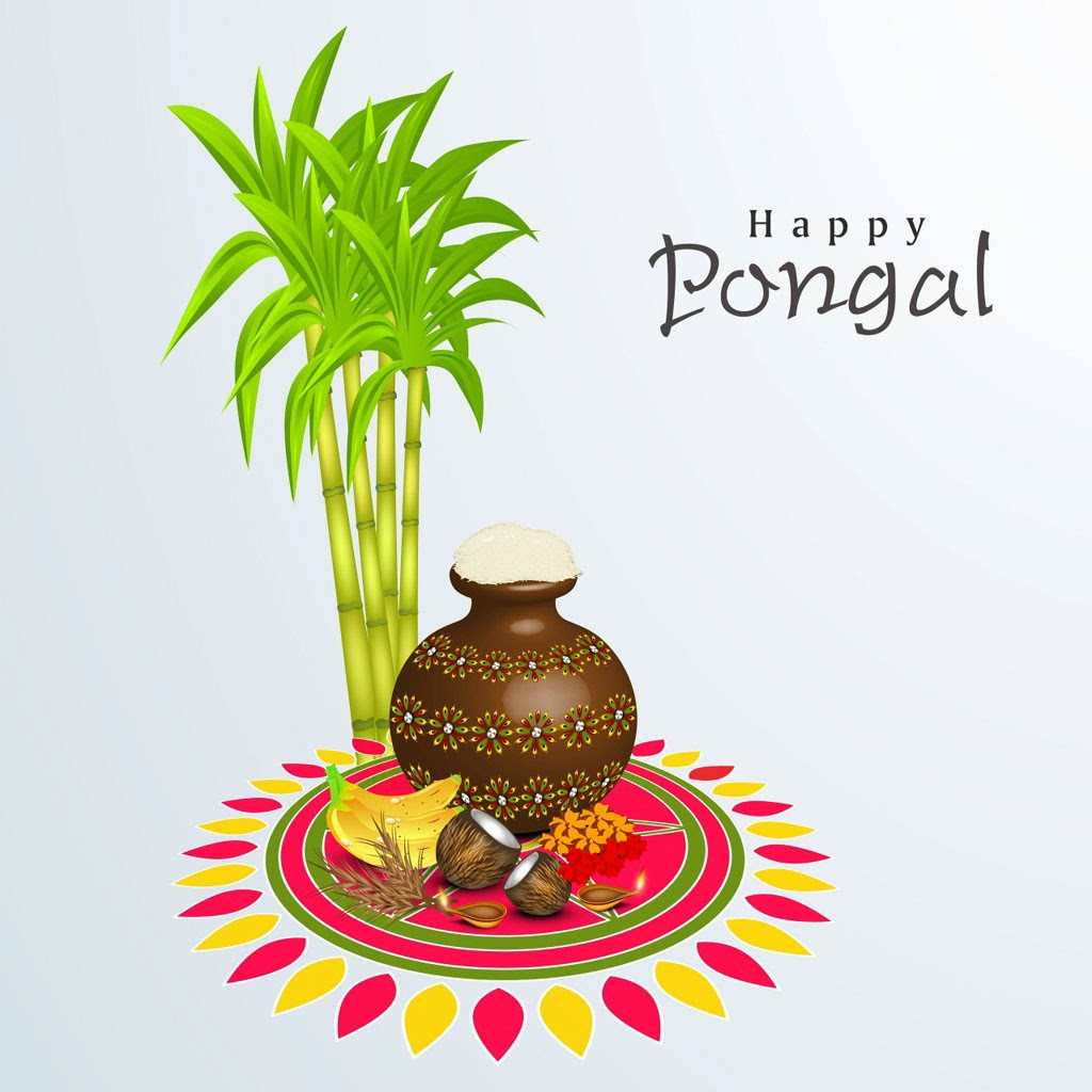 Happy Pongal Greetings SMS Messages In Hindi