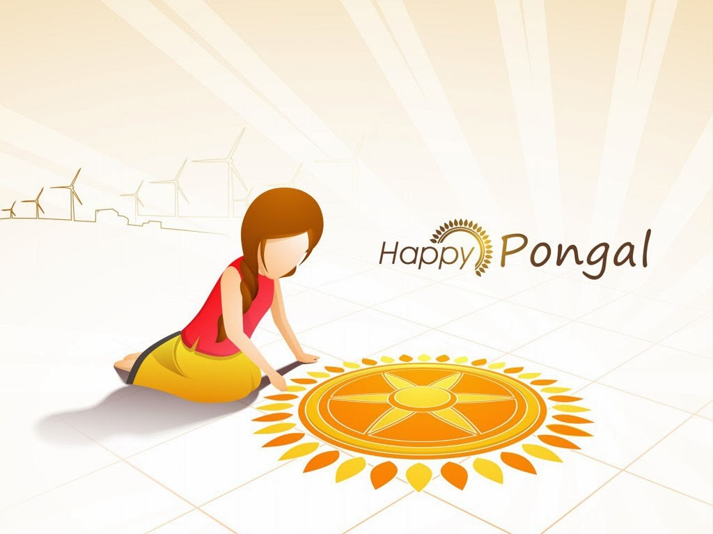 Happy Pongal Wishes Greetings Cards With Quotes Images