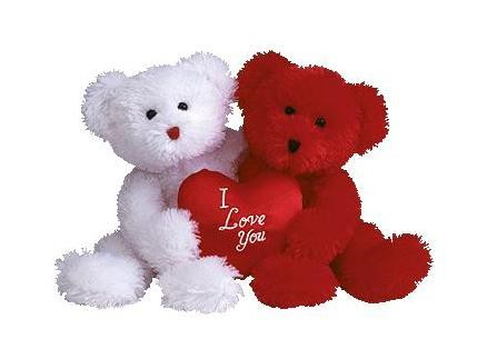 Love-heart-teddy-bears-valentine-day-gifts-for girls-girlfriend