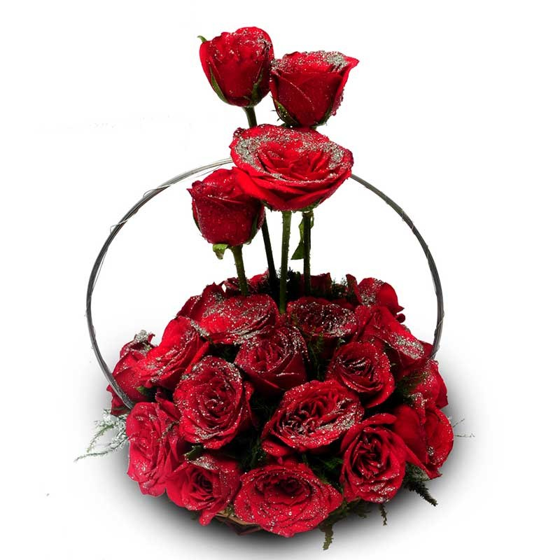 Sliver_Glory_Fresh-Flower_Combo_Valentine_Gift