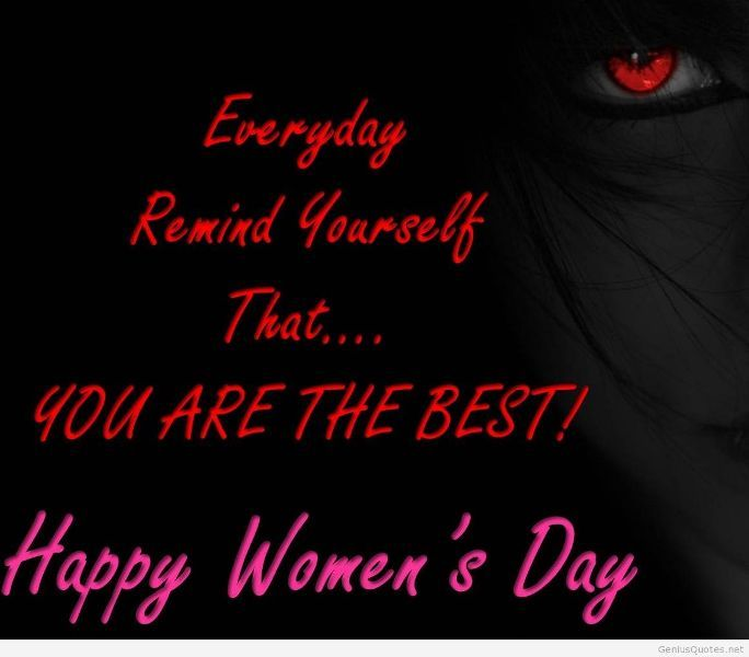 Womens Day Quotes With Images: Happy Women's Day Wishes Greeting Cards & Wallapers Free