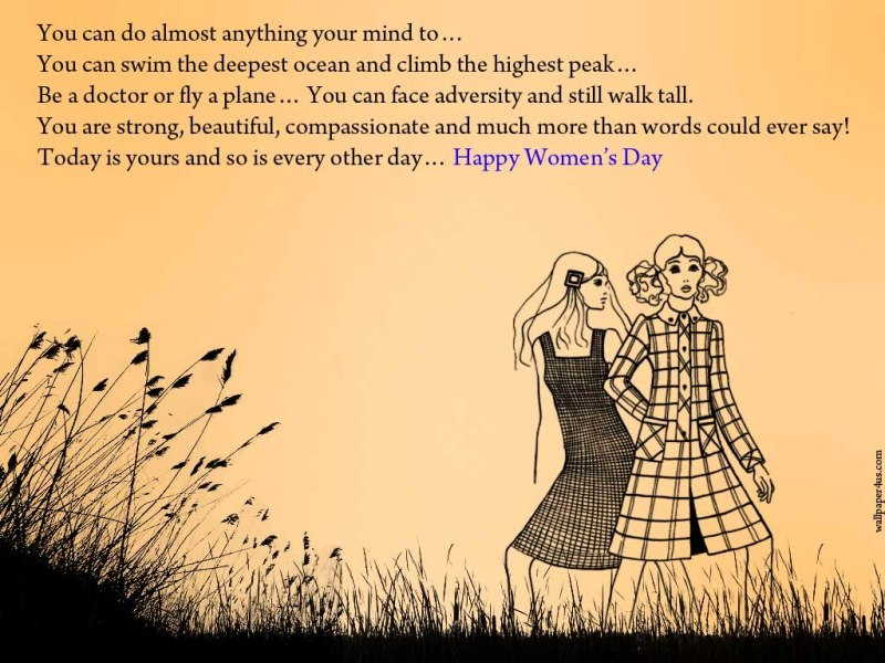 International Women's Day Quotes-37 Powerful Sayings