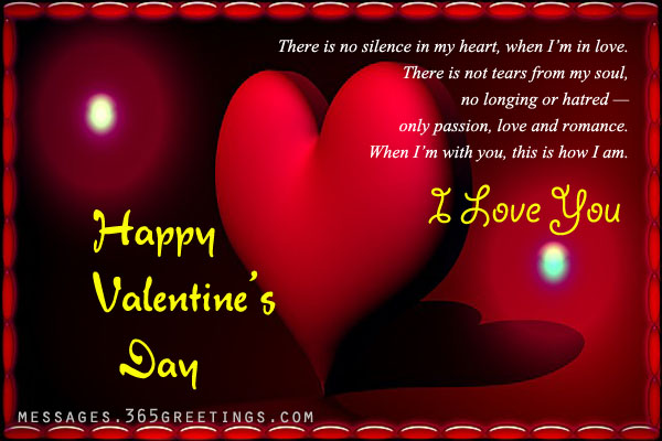Romantic Valentine S Day Wishes Love Messages Sms