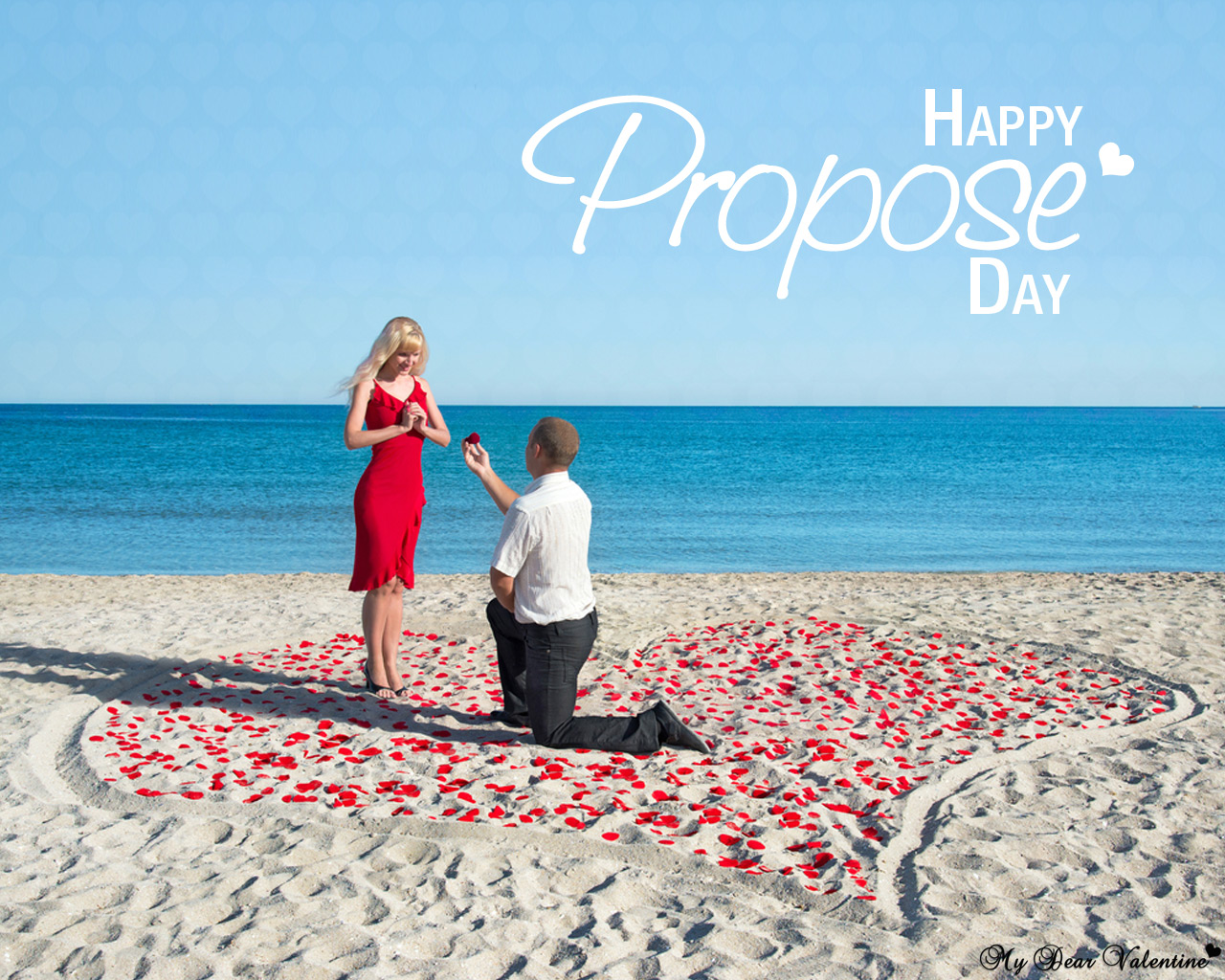 Happy Propose Day Romantic Gifts And Free Wallpapers For