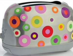 Colourful Holi Gifts Toaster
