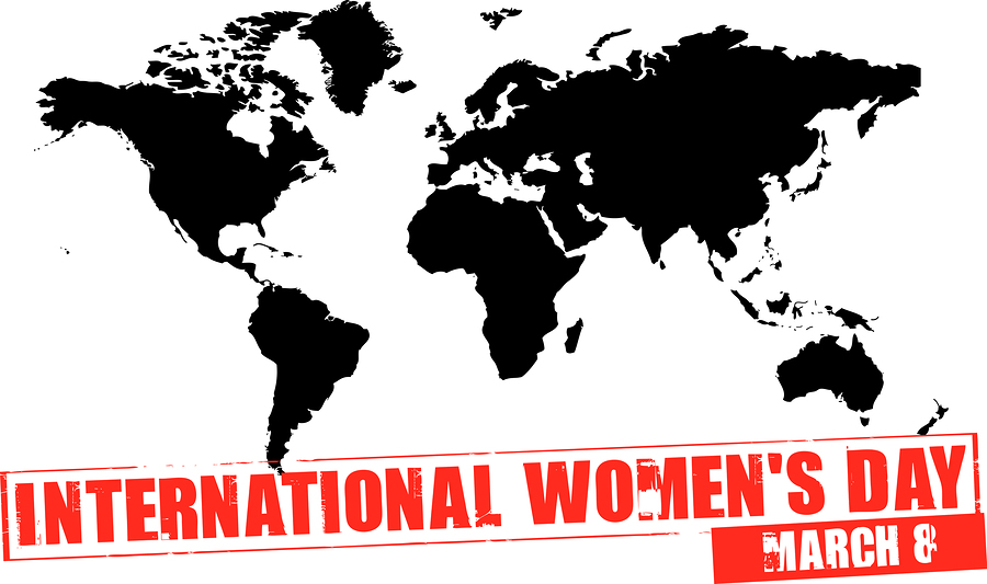 Happy International Women's Day 8 March
