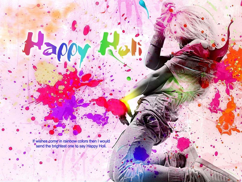 Holi HD Wallpaper