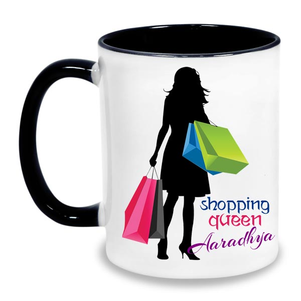 Shopping_Queen_Personalised_Mug_HERMUG
