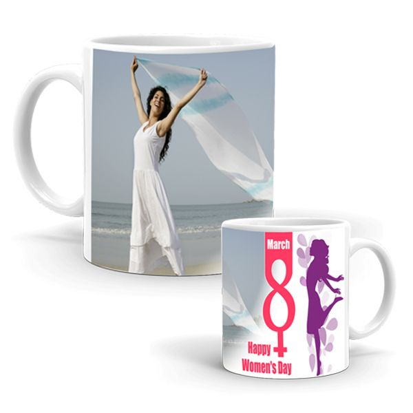 Women's Day with Personalized Mug