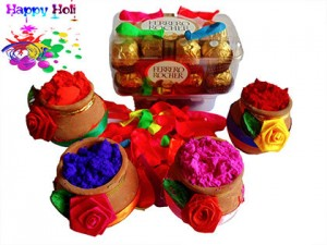 chocolates for Holi