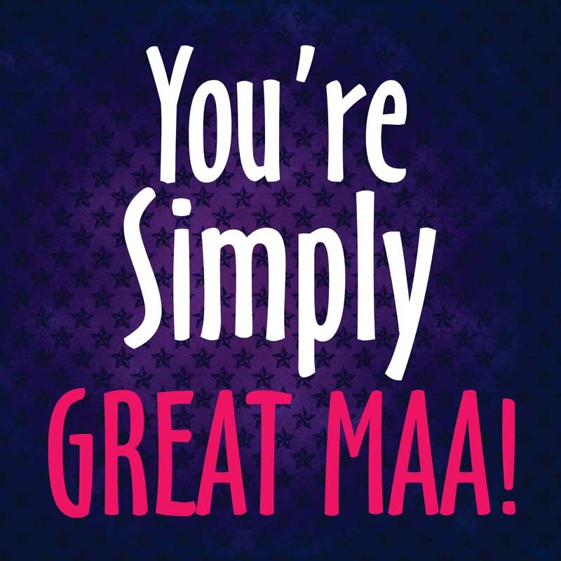 You_re_Simply_Great_Maa_Love_Recordable_Greeting_Card
