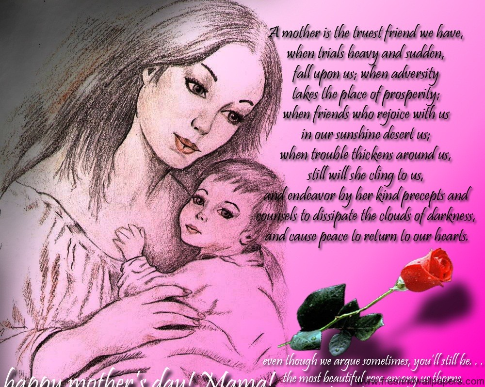 Mothers-Day-Hd-Wallpapers-Happy Mothers Day Messages, SMS and Wishe