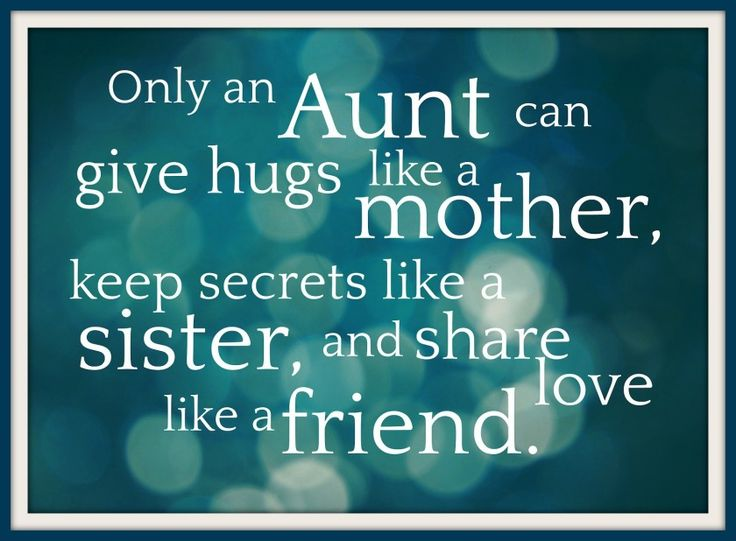 Mothers day quotes for aunts