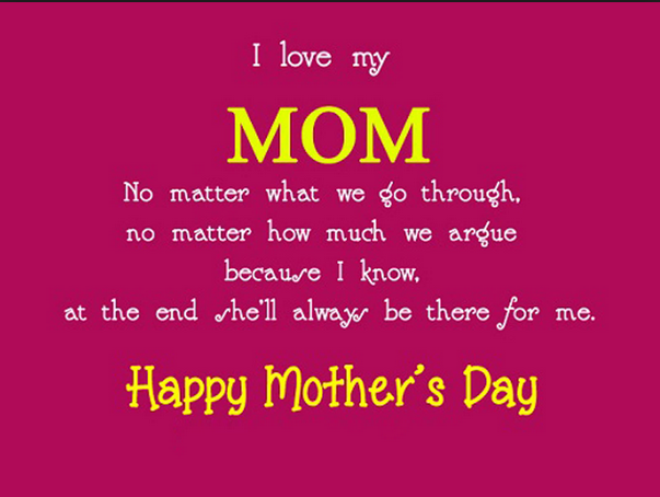 happy mother's day sayings 2016