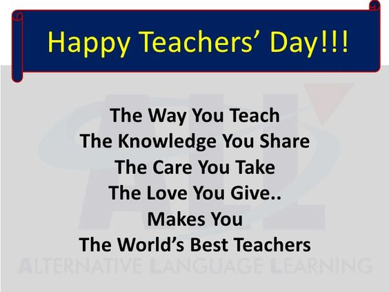 teachers Day images