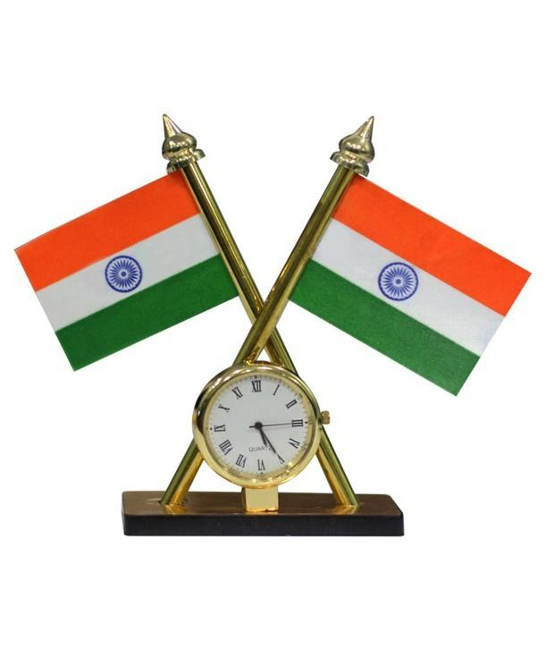clock_set-of-2-indian-flag-with-clock-for-office-car-home