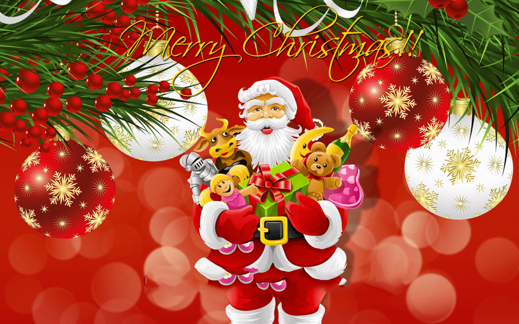 Merry Christmas Desktop Wallpapers Free Download