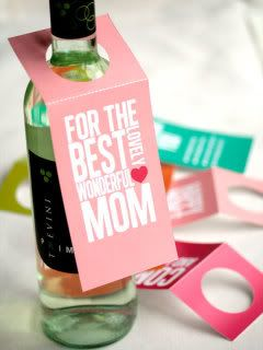 Mothers Day gift wine