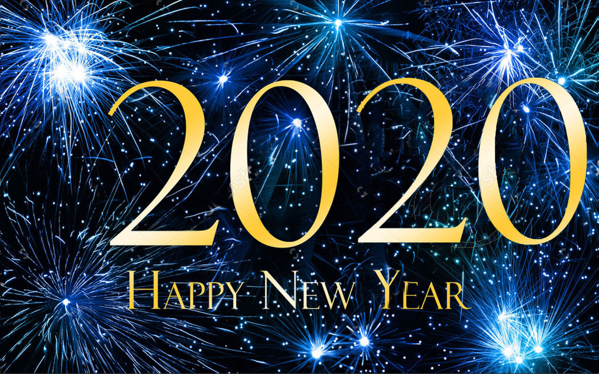 Happy New Year 2020 HD Wallpapers - Download