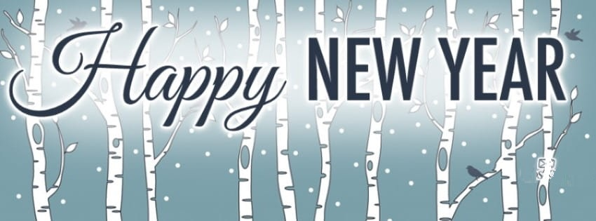 Happy New Year Facebook Cover Photos 2020