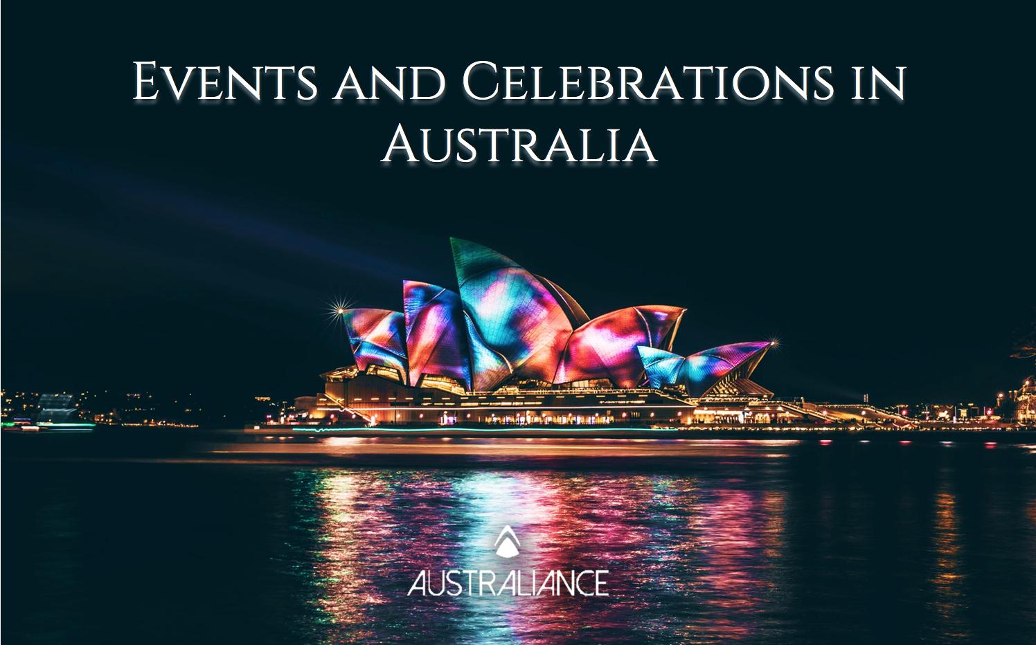 Enjoy Major Australian Events