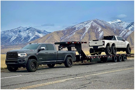 Safe and proper towing-1