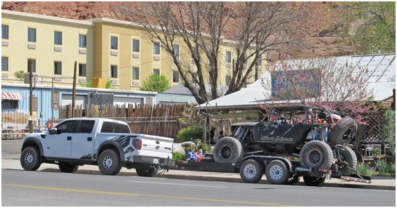 Safe and proper towing