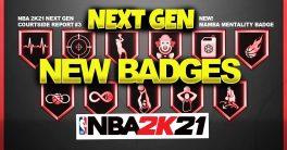NBA 2K21 Next-Gen Best Shooting Badges