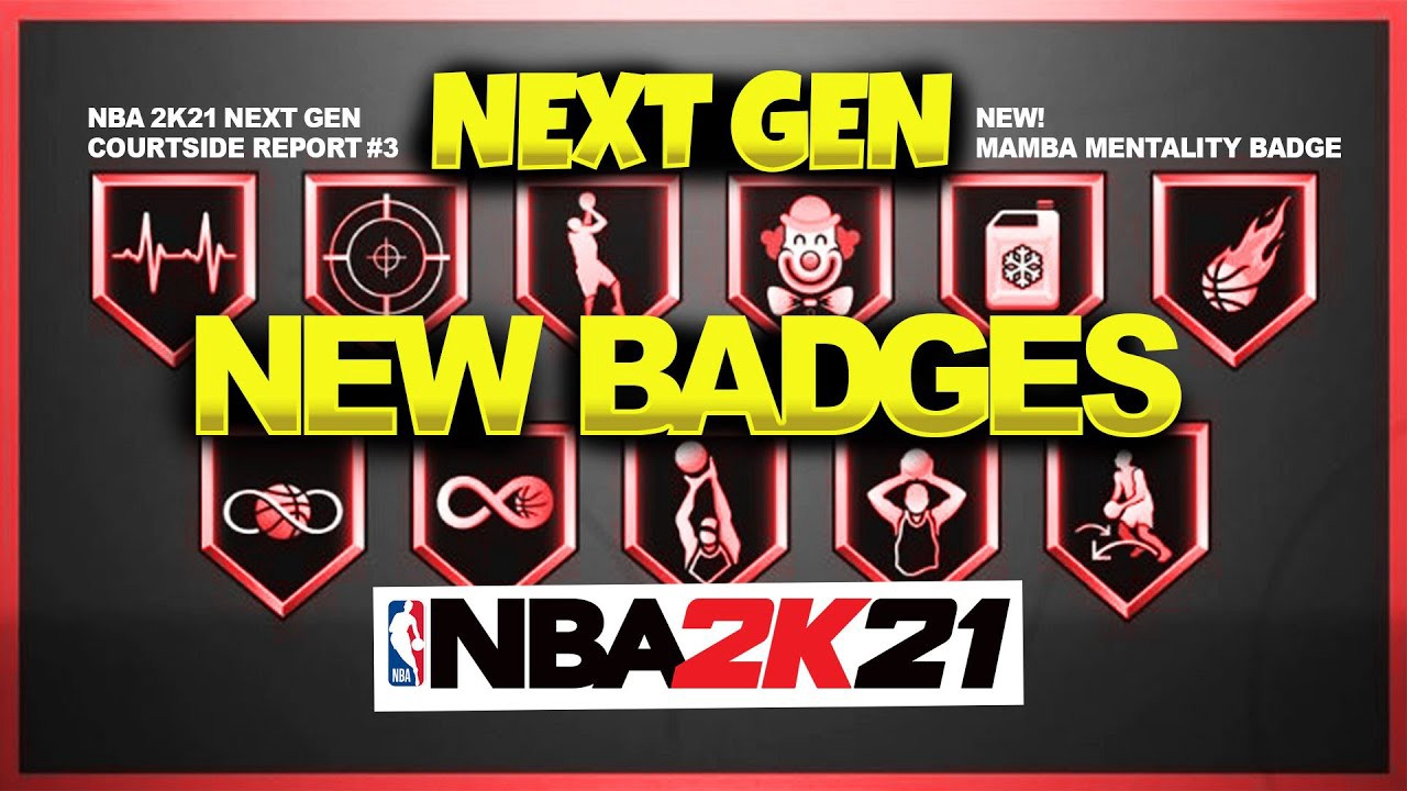 NBA 2K21 Next-Gen Best Shooting Badges