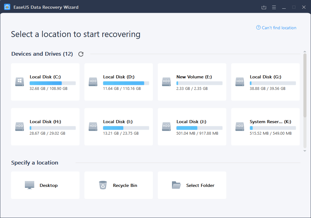 The Minimal Data Recovery Software_1